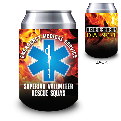 <!--1-->12 oz Custom Full Color Can Hugger - EMS