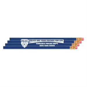 <!--15-->Imp. Economy Pencil - Royal Blue - Badge