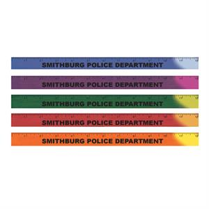 <!--25-->Imprinted 12^ Mood Ruler - Assorted