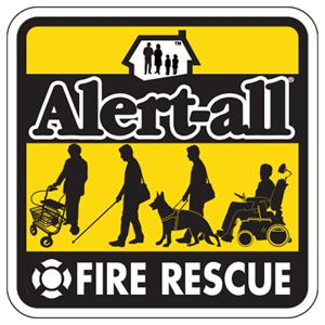 Alert-All Fire Rescue Sticker