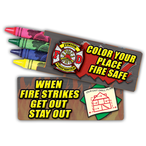 Alert-All Fire Safety Crayons