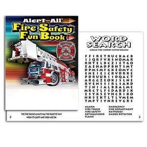 Alert-All Fire Safety Fun Book