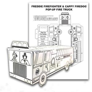 Color Me Pop-Up Fire Truck