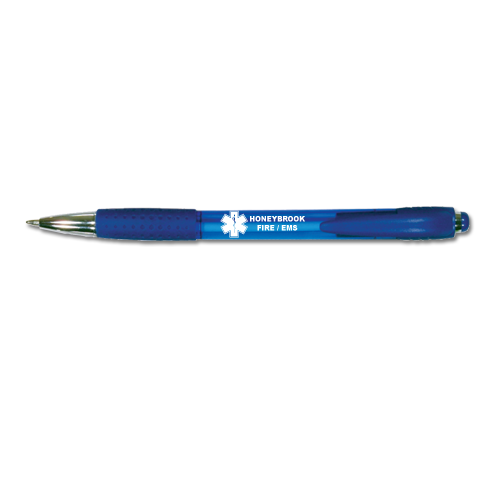 Custom Blue Party Pen - Star of Life