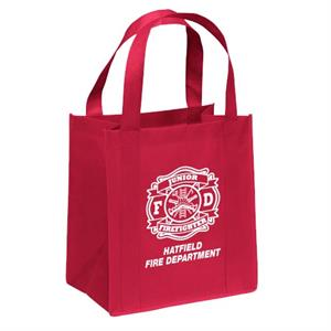 Custom Jr. Firefighter Maltese Cross Tote Bag