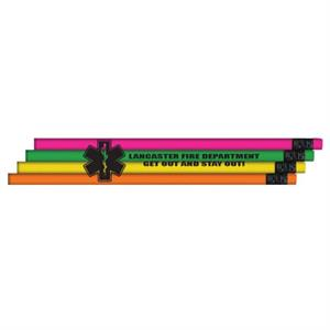 Custom Star Of Life Economy Pencil