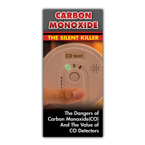 Imprinted Carbon Monoxide Brochure