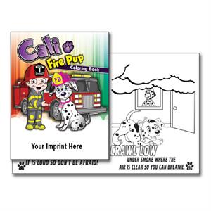 Imprinted Coloring Books