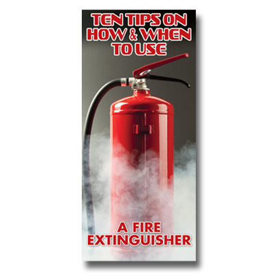 Imprinted Fire Extinguisher Brochure