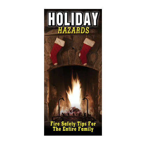 Imprinted Holiday Hazards Brochure