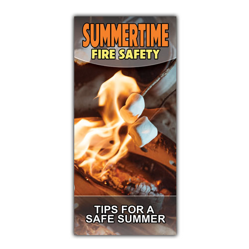 Imprinted Summertime Fire Safety Brochure