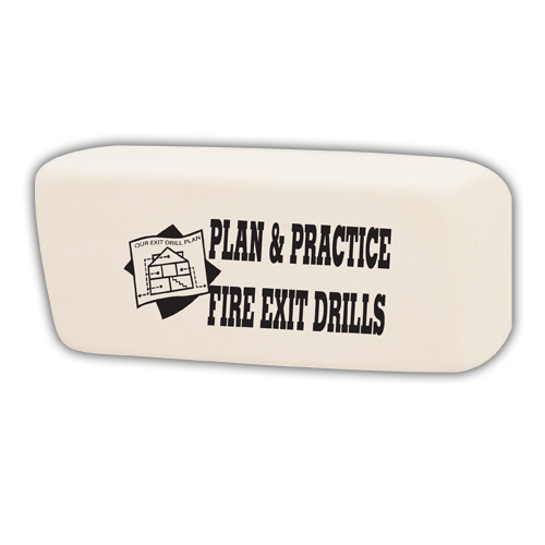 Jumbo Fire Safety Eraser