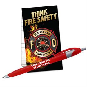 Stock fire Safety Memo Pack