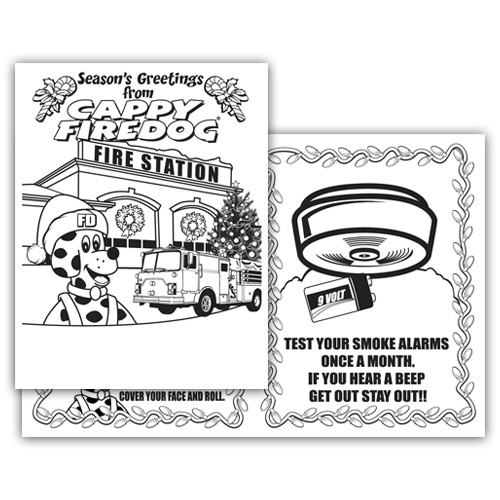 <!--Z-->Holiday 4-Page Coloring Booklet