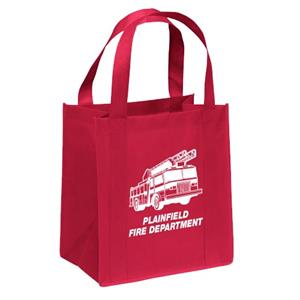 Custom Fire Truck Tote Bag