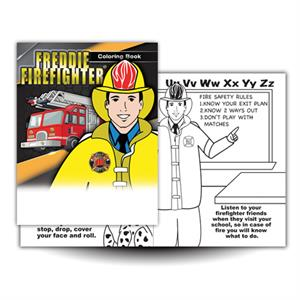 Freddie Firefighter Coloring Book