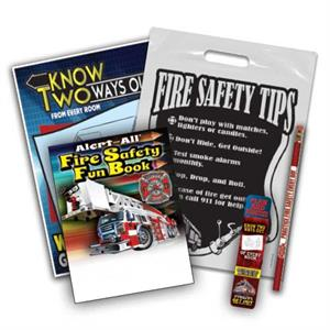 Fire Safety Home Exit Drill School Kit