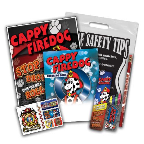 Cappy Firedog School Kit