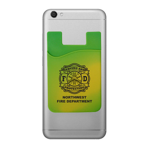 <!--1-->Custom Green Mood Smart Wallet