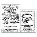 <!--Z-->Holiday 4-Page Coloring Booklet-Imprinted