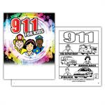 9-1-1 for Kids Coloring Book