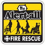 Alert-All Fire Rescue Cling