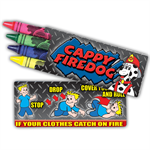 Cappy Firedog Crayons