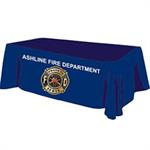 Custom - 6 ' Tablecloth - Blue