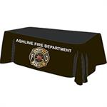 Custom - 8 ' Tablecloth - Black
