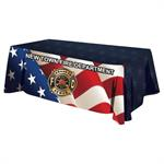 Custom - 8 ' Tablecloth - Flag Design