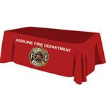 Custom - 8 ' Tablecloth - Red