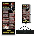 Custom - Kitchen Fire Safety Banner Roll Up