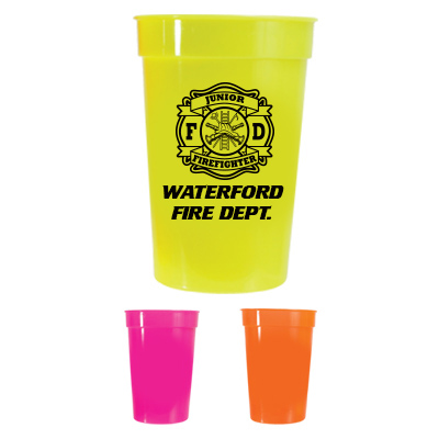 Custom 17oz Stadium Cup - Neon Assortment