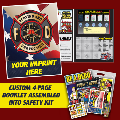 Custom 4 Pager and Fire Safety Kit