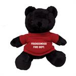 Custom 7^ Imprinted Black Bear W/ T-Shirt