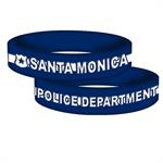 Custom Blue Awareness Silicone Band