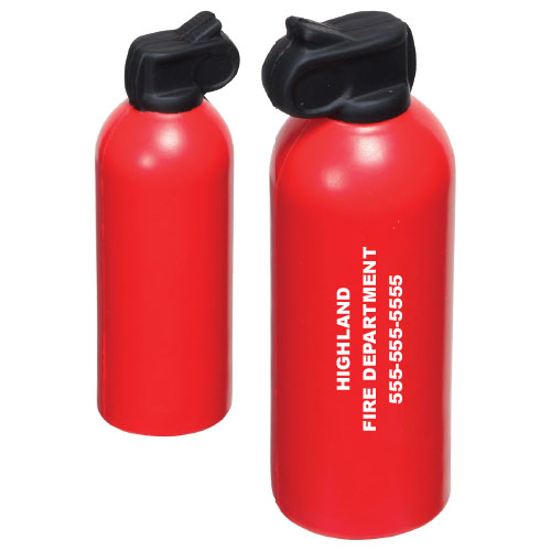 Custom Fire Extinguisher Stress Reliever