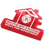 Custom House Chip Clip with Theme
