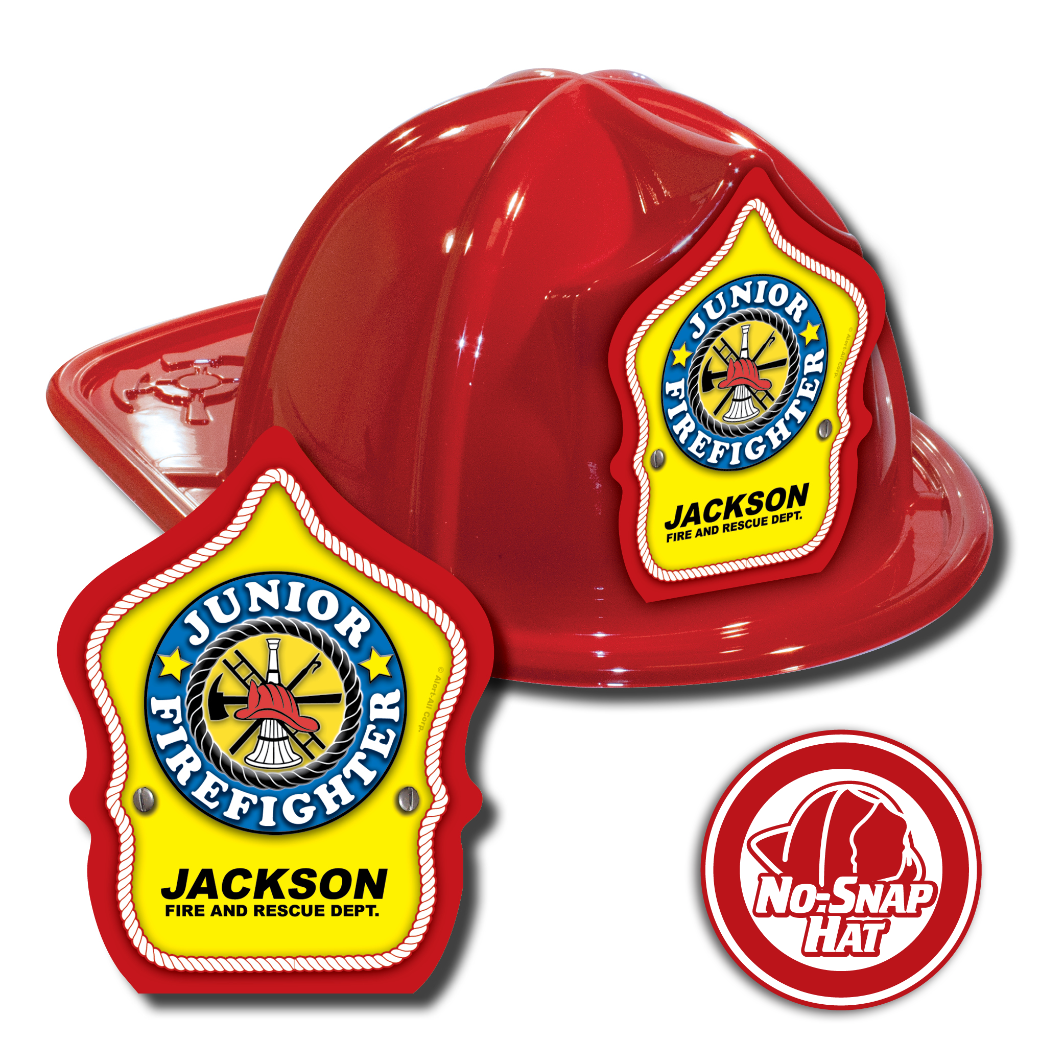 Custom Junior Firefighter Hats in Red 3f9f0a947a9