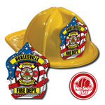 Custom Patriotic Hats in Yellow