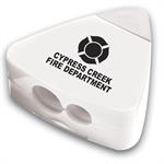 Custom White Pencil Sharpener Eraser Combo