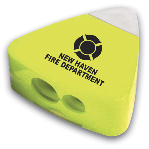 Custom Yellow Pencil Sharpener Eraser Combo