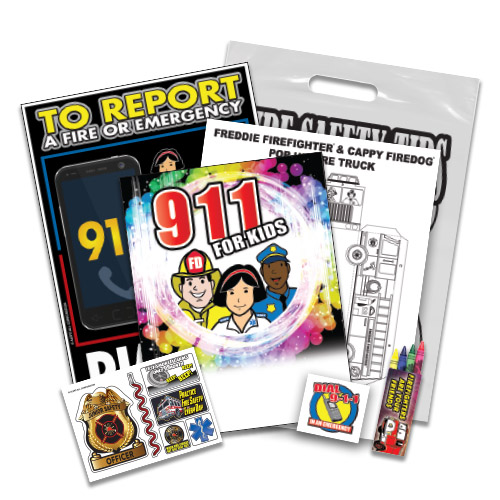 Dial 9-1-1 Fire Safety Kit 1