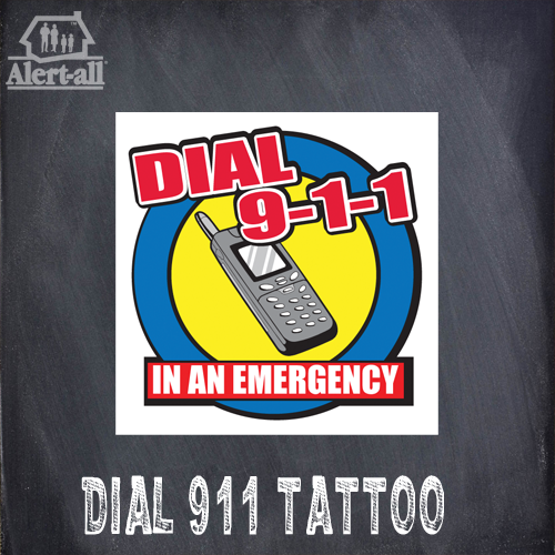 Dial 9-1-1 Fire Safety Kit 7