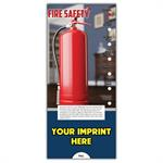 Fire Hazards Slide Guides - Imprinted