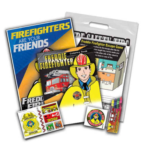 Freddie Firefighter Fire Safety Kit