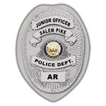 IMP. POLICE BADGE STICKER - STATE SEAL (AR)