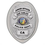 IMP. POLICE BADGE STICKER - STATE SEAL (CA)