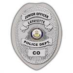 IMP. POLICE BADGE STICKER - STATE SEAL (CO)