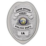 IMP. POLICE BADGE STICKER - STATE SEAL (IA)